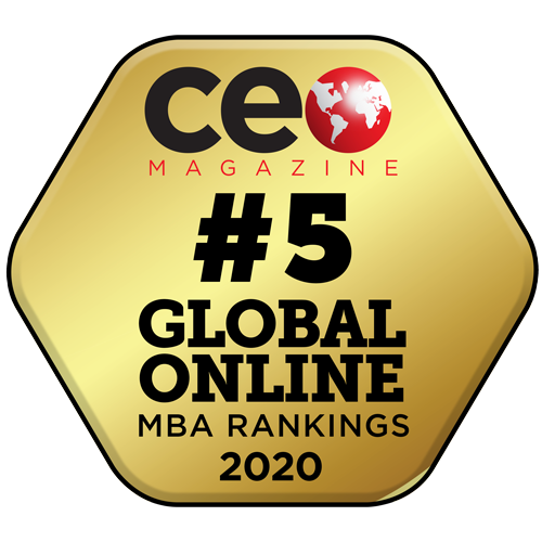 CEO Magazine Number 5 in the Global Online MBA Rankings 2020