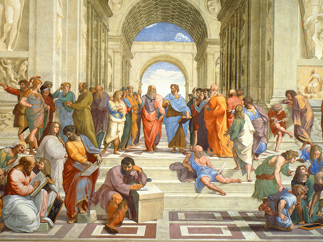 The School of Athens_Raphael (1509-10)