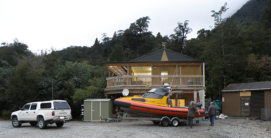 Deep Cove Field Station in Fiordland image 1x