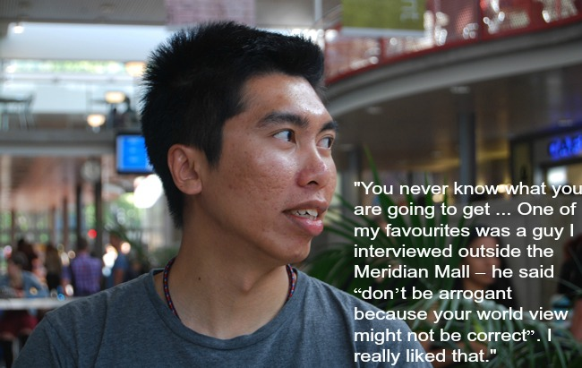 David Xie image with quote