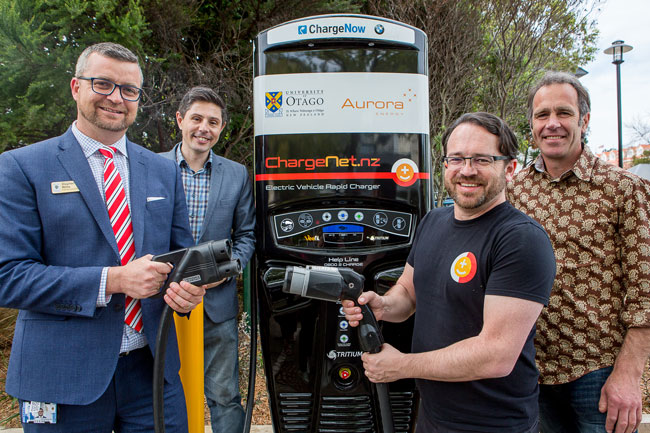Charging Ahead With Fast Chargers Uni News Otago Bulletin