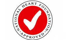heart foundation tick image