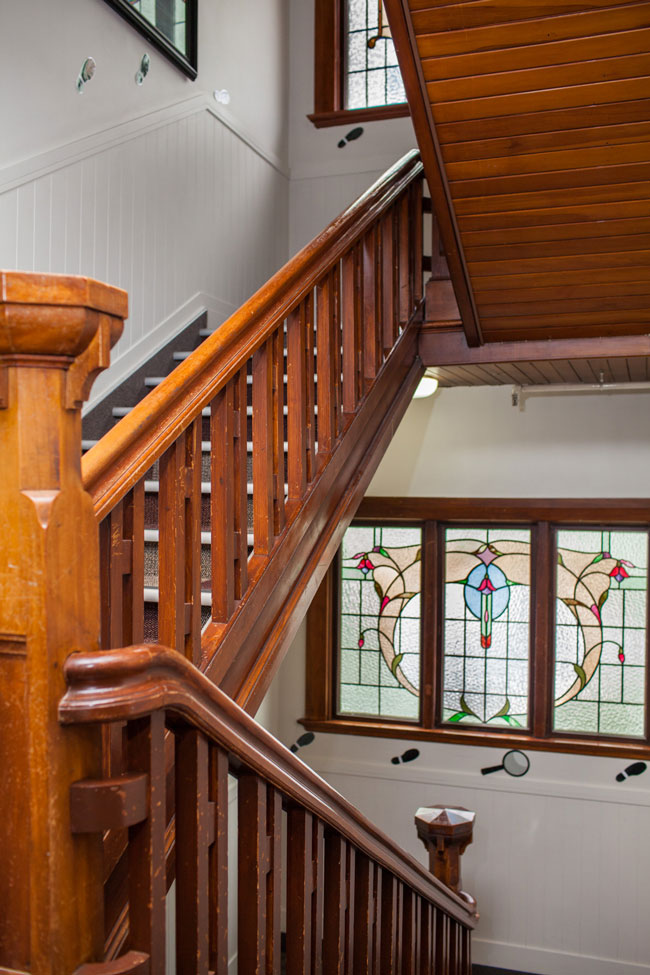 Cumberland college staircase image