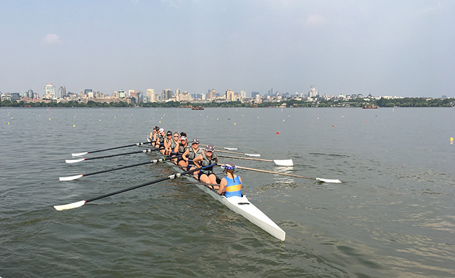 Women's Eights rowing team 2 image