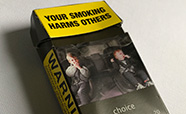 Cigarette packaging thumb