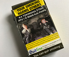 cigarette packaging small