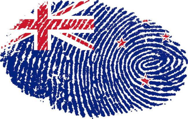 New Zealand thumb print image