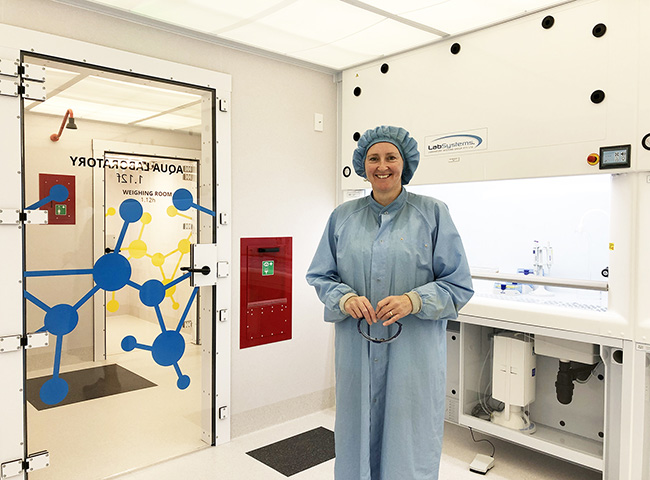 Claudine Stirling in Clean Lab 3 image