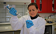 Professor Alison Heather in her lab thumbnail