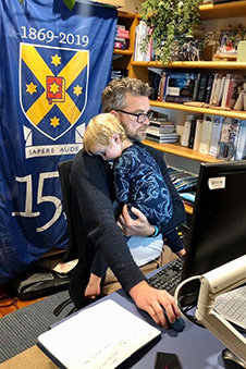 Steve Willis COO-and-Son-Working-from-Home Image 2020