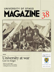 University of Otago issue 38 cover
