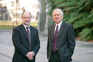 Professors K Geoffrey White and David Skegg