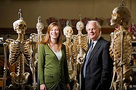 Professor Gareth Jones & Maja Whitaker