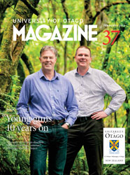 University of Otago Magazine issue 37 thumbnail