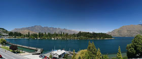 Queenstown panorama.
