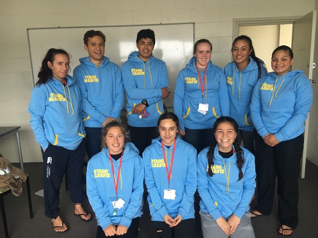 nga mahi students 2017 in their hoodies