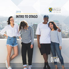 2017 Intro to Otago cover