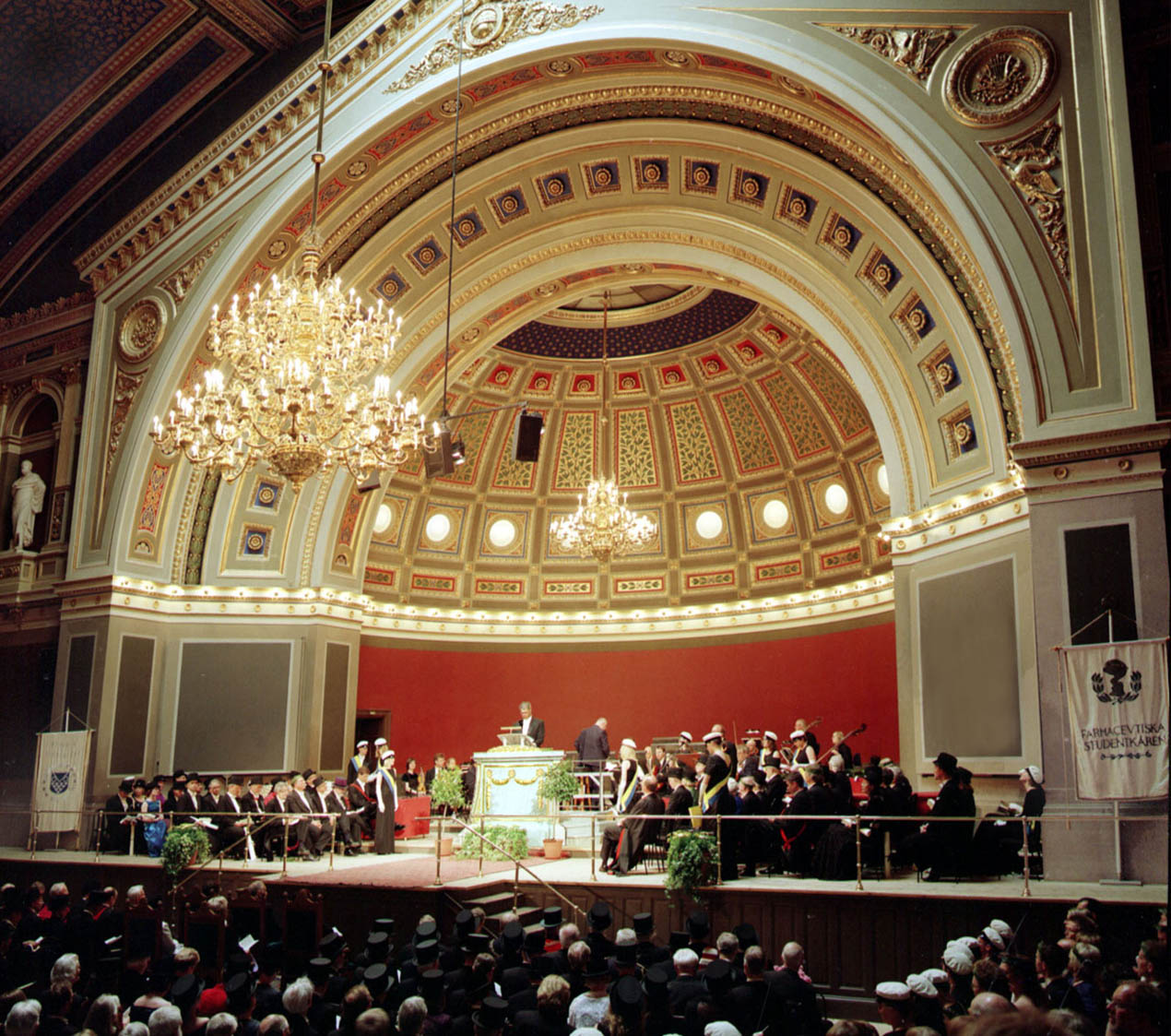 Orchestra at Uppsala University