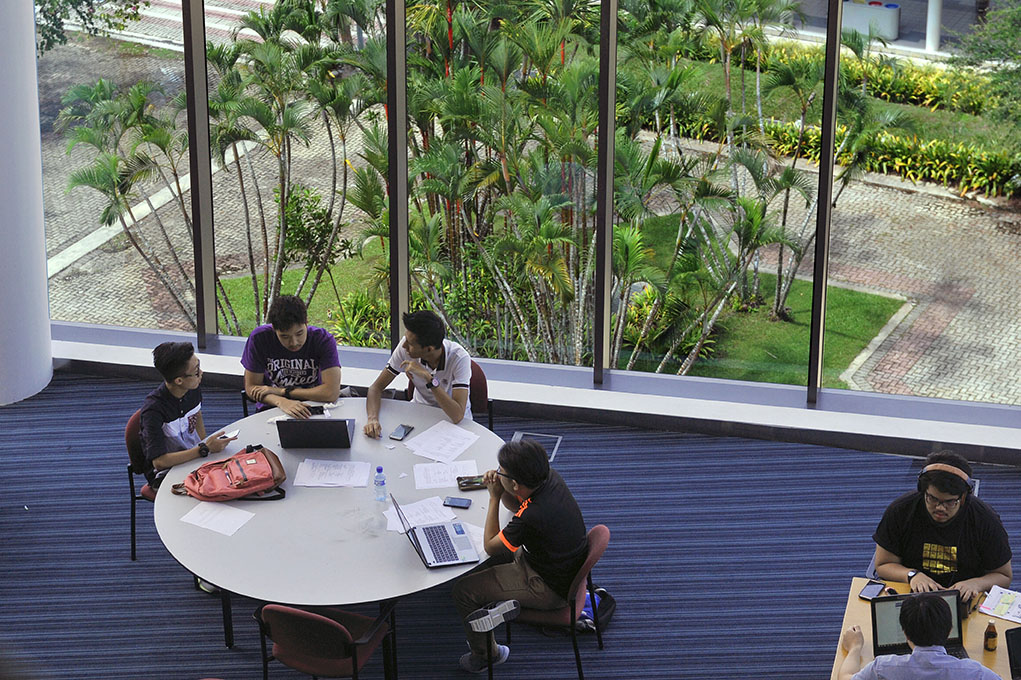 UBD Business Library