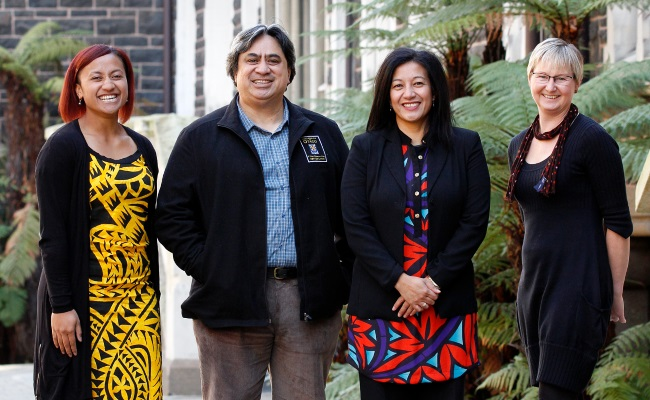 Pacific Development Office Team in the Quad_June 2015