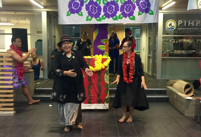 Tofilau honoured at Pacific Welcome