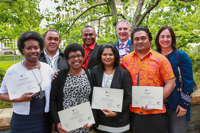 hard work and sacrafice celebrated at ceremony