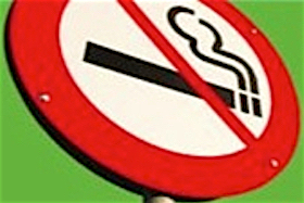 Stop smoking sign image