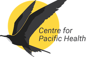 Centre for Pacific Health bird logo