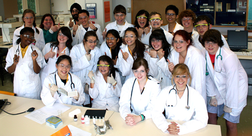 Hands on Science Class 2012
