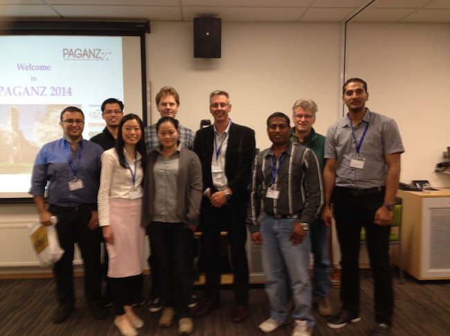 (OPG) Members of Otago Pharmacometrics Group at PAGANZ 2014