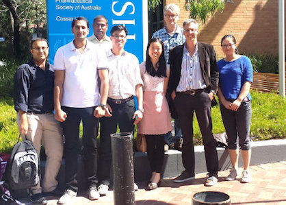 (OPG) Members of Otago Pharmacometrics Group at PAGANZ 2015