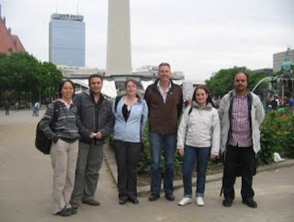 (OPG) Members of Otago Pharmacometrics Group at PAGE 2010