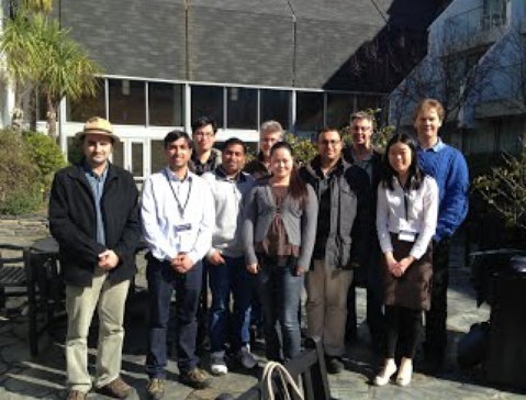 Members of Otago Pharmacometrics Group at ASCEPT 2013 (Queenstown)