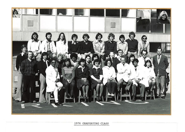 Pharmacy Class of 1976