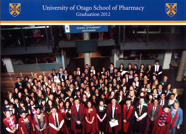 Pharmacy Class of 2012