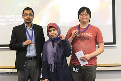 Pharmacy 3MT winners