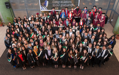 Graduating group photo of 2017_418