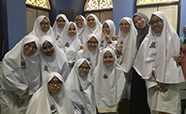 Nadiah with secondary four students thumbnail