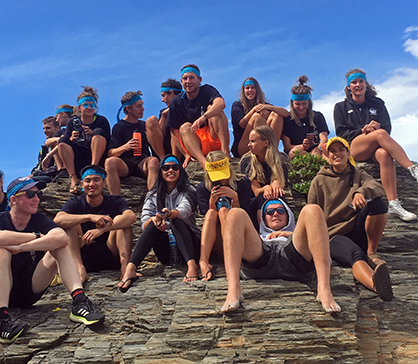 physio_Camp group on rock 2018