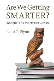 Image of are we getting smarter book cover
