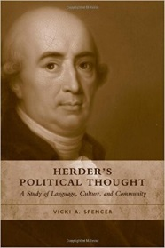 Image of Herders political thought book cover