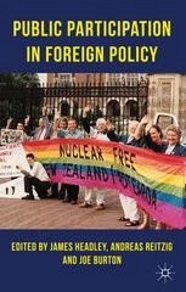 Image of public participation in foreigh policy book cover