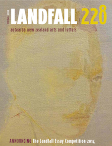 Landfall 228 front cover image