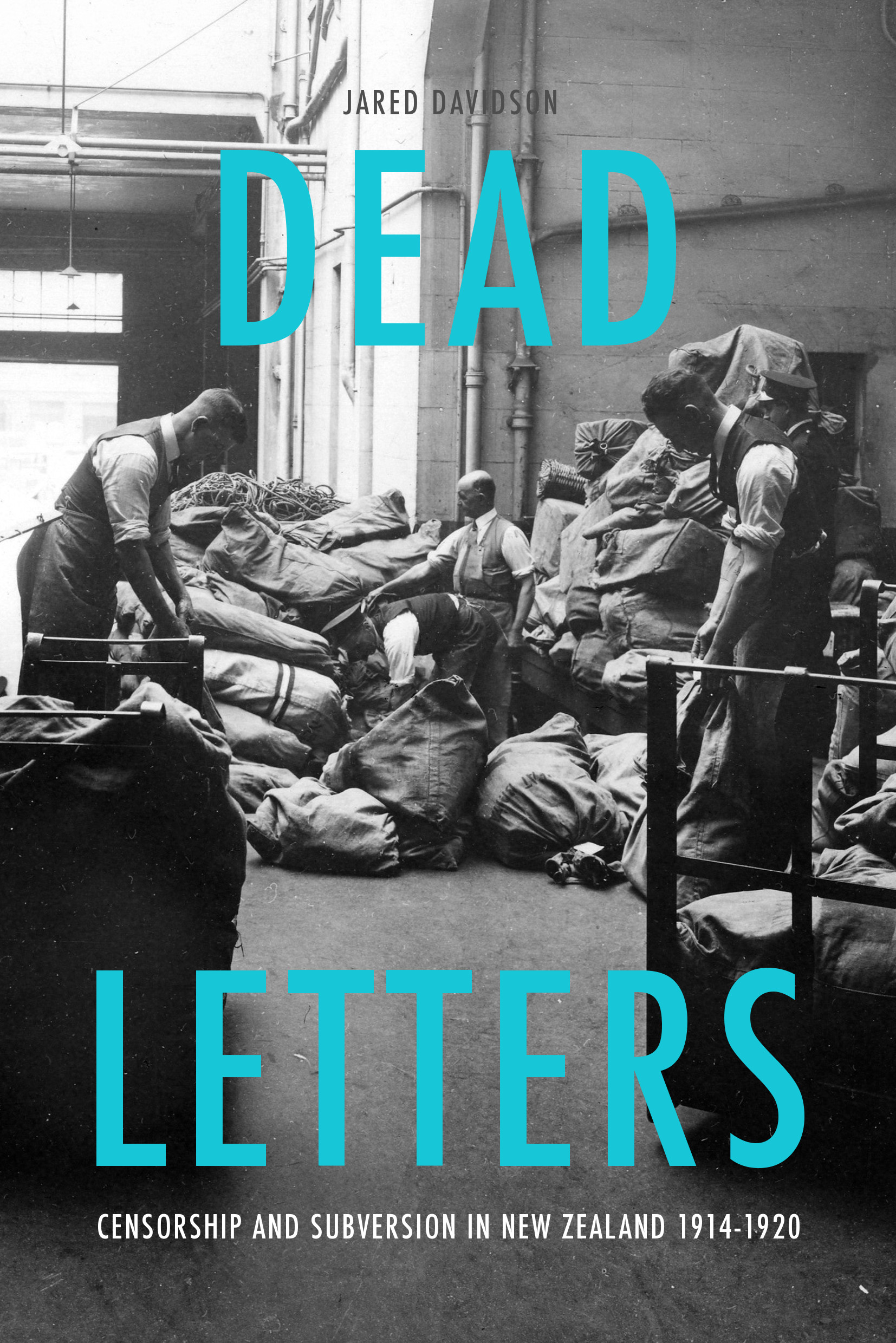 Dead Letters Cover Blue