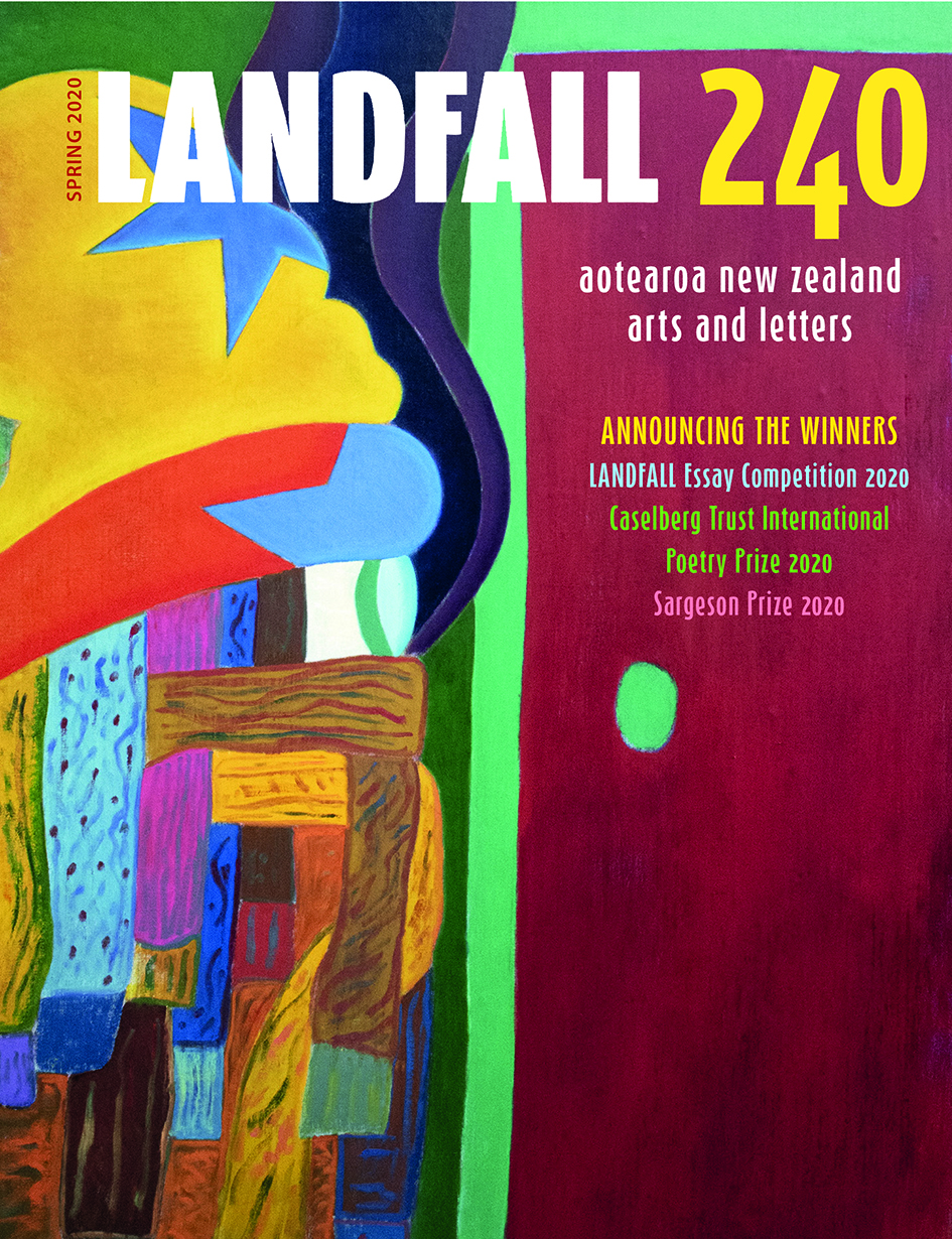 LANDFALL 240 front cover copy