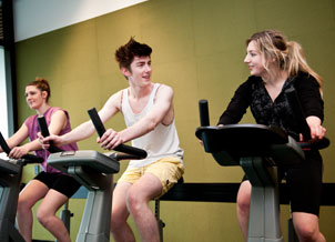 Exercycling in unipol