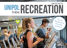 Cover of Healthy Campus Recreation magazine