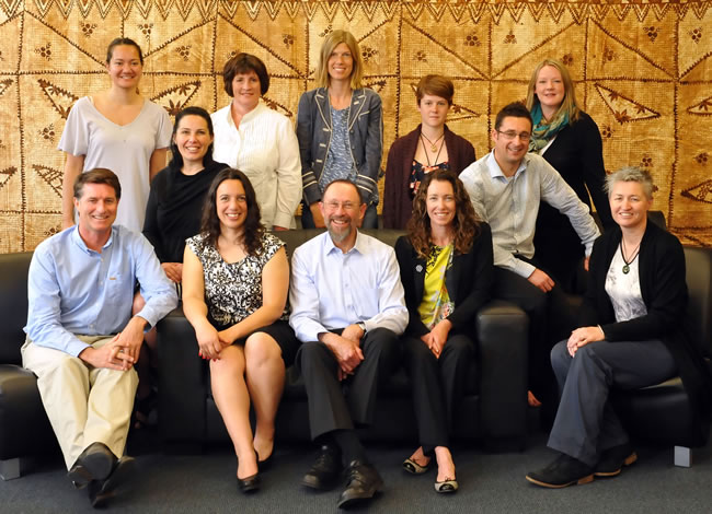 A group photo of the Cancer Society Social and Behavioural Research Unit