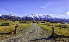 Canterbury landscape and southern alps 226
