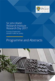 SJWRI Research Day 2017 Programme Cover 186px